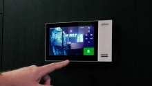Touch panel camerabewaking