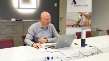 Danny Van Reeth in vergadering met Teams of Zoom